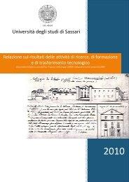 Pubblicità delle attività di ricerca delle università - Università degli ...