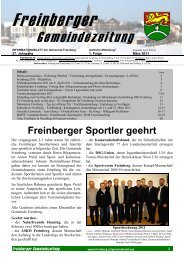 1. Folge März 2011 - in Freinberg