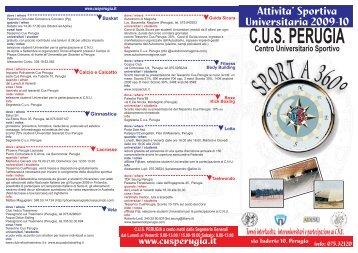 C.U.S. PERUGIA - Università per Stranieri di Perugia