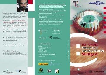 Virtuelle & digitale Welten - Engineering von morgen - Universität ...
