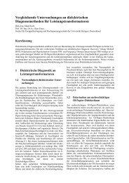 Vergleichende Untersuchungen an dielektrischen ...