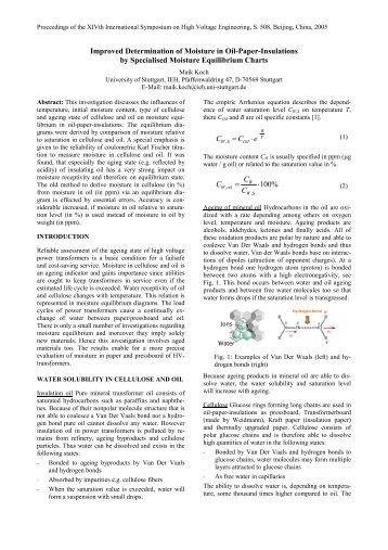 moisture determination paper