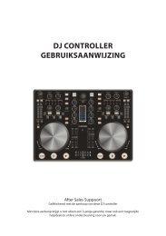 DJ CONTROLLER GEbRuiksaaNwiJziNG - Unisupport