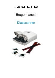 Brugermanual Diasscanner - Unisupport