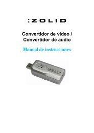 Convertidor de video / Convertidor de audio Manual de ... - Unisupport