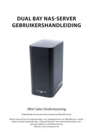 Dual Bay NaS-Server GeBruikerShaNDleiDiNG - Unisupport