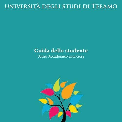 Guida 2012/2013 - Università degli Studi di Teramo
