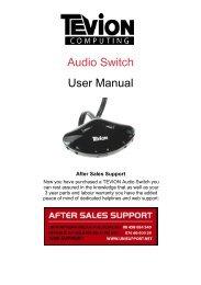 Audio Switch User Manual - Unisupport