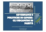 Lezione della Consigliera di parità Loretta Del Papa