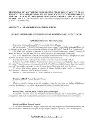 Scarica i giudizi e la relazione finale - Università degli Studi di Teramo