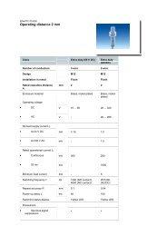 Technical Data (109.62 KB - GB) - Unitec