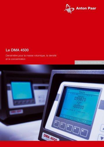 Le DMA 4500 - Unitec