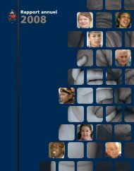 Rapport annuel 2008 - The United Church of Canada