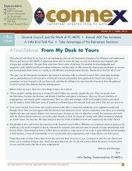 Connex 31, June 2012 - The United Church of Canada