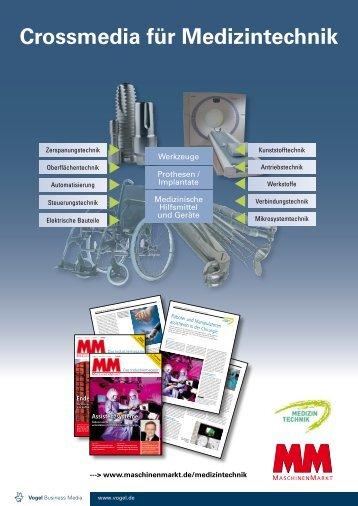 Crossmedia für Medizintechnik