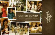 2006-2007 - United Board for Christian Higher Education in Asia