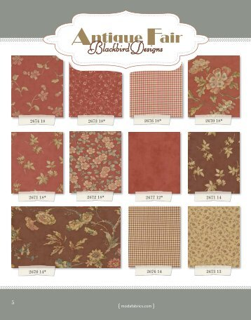 Antique Fair - Moda Fabrics