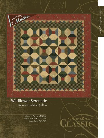 Wildflower Serenade - Moda Fabrics