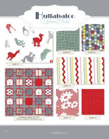 Hullabaloo - Moda Fabrics