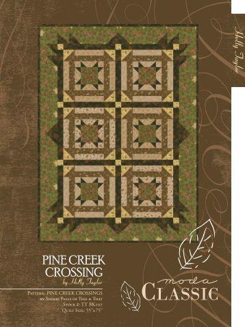 Pattern: PINE CREEK CROSSINGS by Sherri Falls of This & That ...