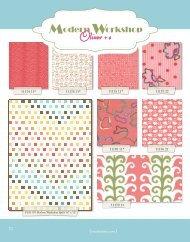 Modern Workshop - Moda Fabrics