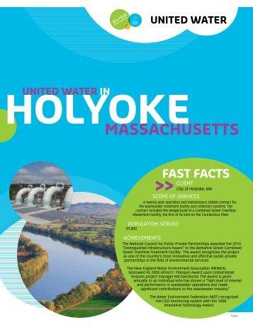 holyoke united water in