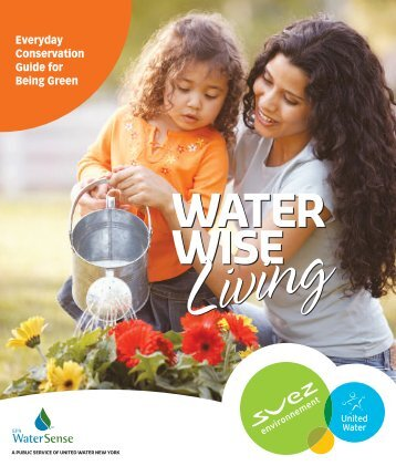 Everyday Conservation Guide for Being Green - United Water
