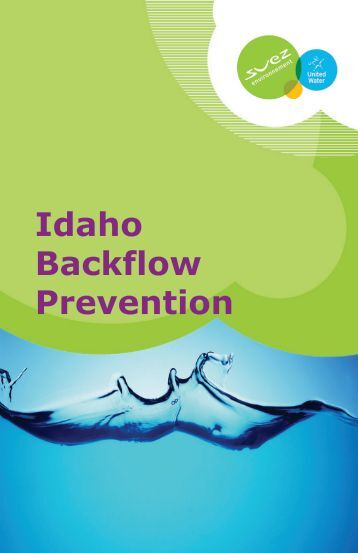 Idaho Backflow Prevention - United Water