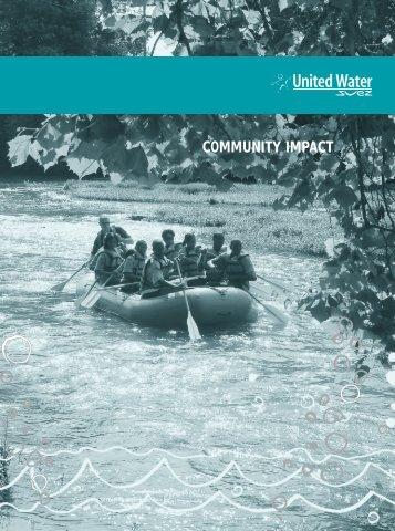Indianpolis Community Impact - United Water