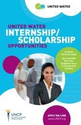 United Water Corporate Scholars Program