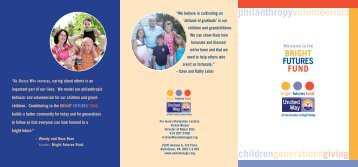Download Bright Futures Fund Brochure - United Way of the Greater ...