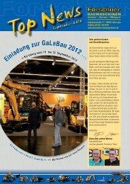 Newsletter 9-2012 - Forschner BAUMASCHINEN