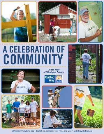Celebrating Community Report 2012 - the United Way of Windham ...