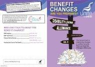 Disability Living Allowance - Unite the Union