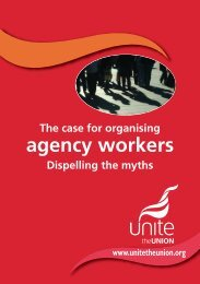 Agency Workers Directive - Unite the Union