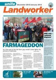 Dec 2012 / Jan 2013 - Unite the Union