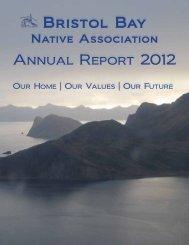 2012 Annual Report - Bristol Bay Native Association