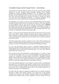 Sustainable Transport and the Environment Guide - Unite the Union - Page 6