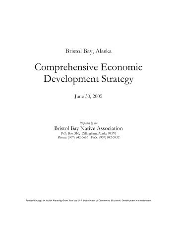 Comprehensive Economic Development Strategy - Bristol Bay ...