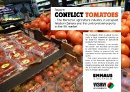 ConfliCt tomatoes