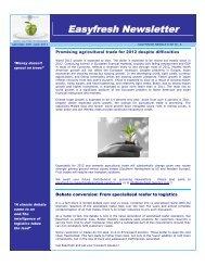 Easyfresh Newsletter - MeatTradeNewsDaily.co.uk
