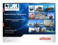 Project Interface Management - Project Executive Group