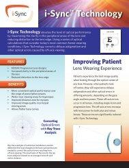 i-Sync™ Technology - Signet Armorlite, Inc.