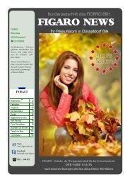 """Kundenzeitschrift des """"FIGARO BILK"""" Ausgabe 10/2014"""