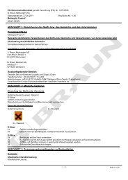 EG-Sicherheitsdatenblatt Meliseptol Foam V - HENRY SCHEIN VET