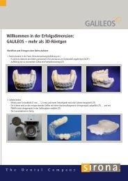 Sirona Galileos Workflow Bohrschablone - 3d-roentgen.ch