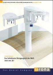 Der ORTHOPHOS XG 3D - 3d-roentgen.ch