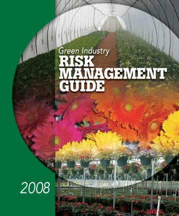 Green Industry - National Ag Risk Education Library - University of ...