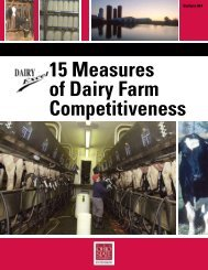15 Measures of Dairy Farm Competitiveness - Ohioline - The Ohio ...