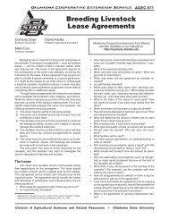 Breeding Livestock Lease Agreements - National Ag Risk Education ...